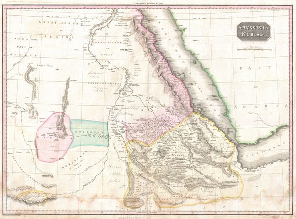 Abyssinia, Nubia & c.
