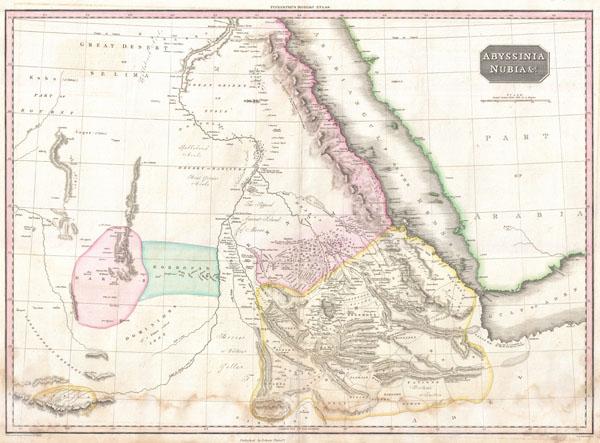 Abyssinia, Nubia & c. - Main View
