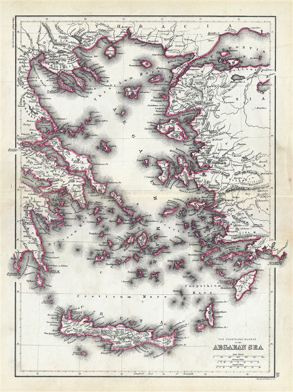 The Coasts and Islands of the Aegean Sea. - Main View