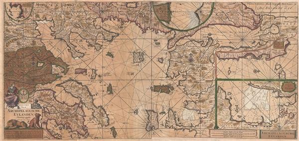 Paskaart Van de Archipelagusche Eylanden.