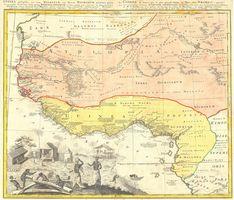 Guinea Propria, Nec Non Nigritiae Vel Terrae Nigorum…Aethiopia Inferior…1743.