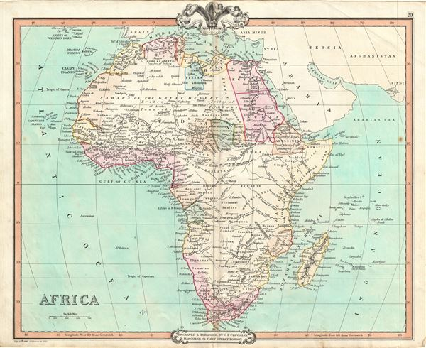 Map Of Africa 1850.Africa Geographicus Rare Antique Maps