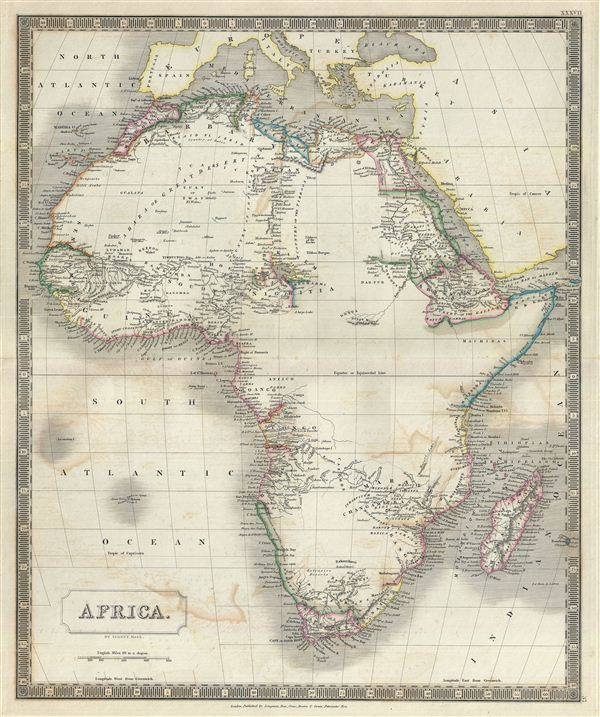 Vintage Maps of North America - the Vintage Map