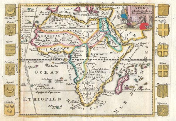 Africa Selon les Autheurs les plus Modernes.