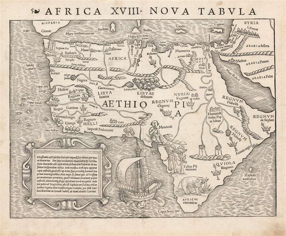 Africa XVIII. Nova Tabula. - Main View