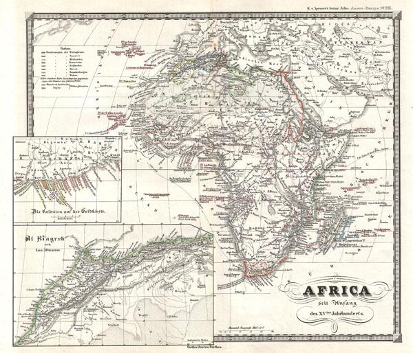 Africa seit Anfang des XVten Jahrhundert's - Main View