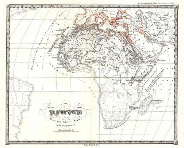 Africa bis zur Eroberung durch dis Araber im VIIten Jarhundert
