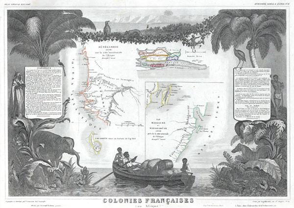 Colonies Francaises.  (en Afrique.)