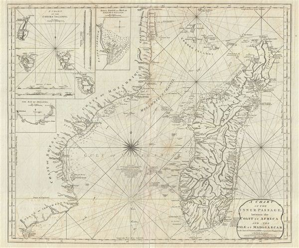 A Chart of the Inner Passage between the Coast of Africa and th Isle of Madagascar. - Main View