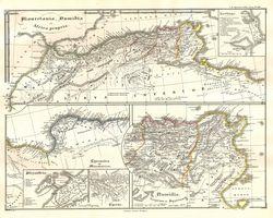 Mauretania, Numidia et Africa Propria.
