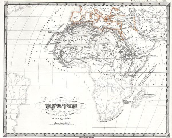Africa bis zur Eroberung durch die Araber im 7th Jahrhundert.