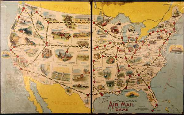 The United States Air Mail Game.