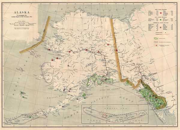 Alaska. To Accompany the Annual Report of the Governor ...