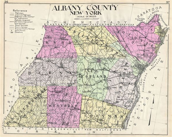 Albany County New York.