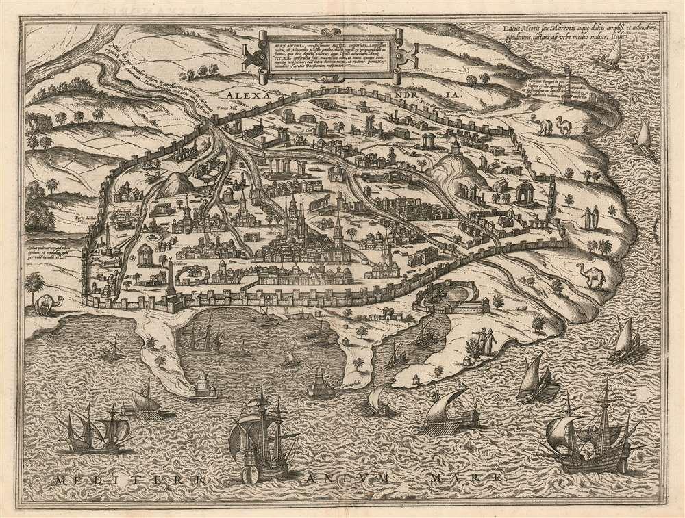 Alexandria, Vetustissimum Aegypti Emporium, Amplissima Civitas