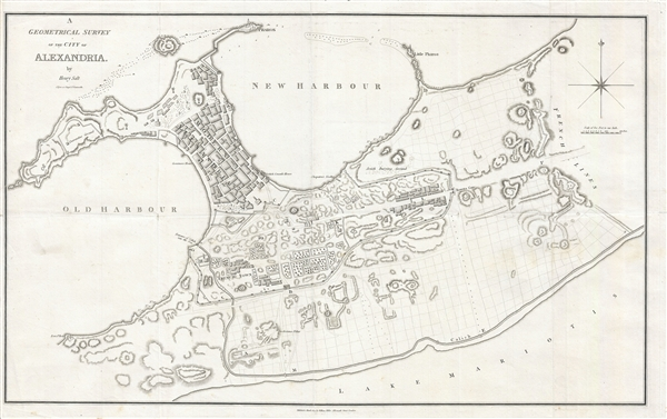 A Geometrical Survey of the City of Alexandria.