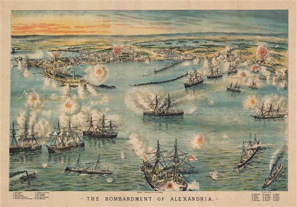 The Bombardment of Alexandria. - Main View