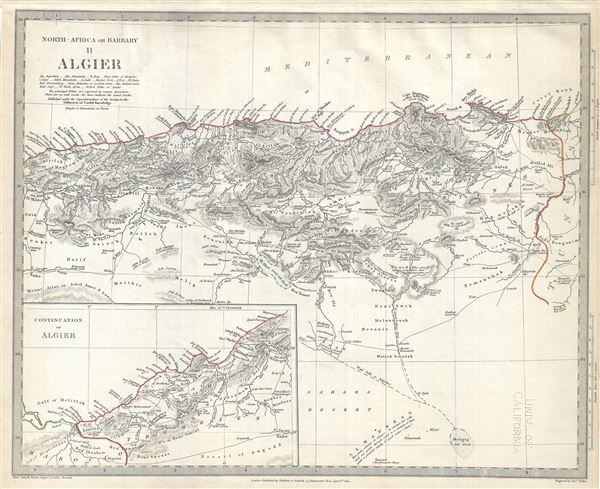 North Africa or Barbary II Algier.