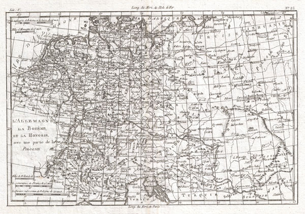 L'Allemagne, La Boheme, et la  Hongarie avec une partie de la Polgne.