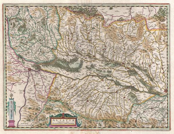 Alsatia Superior cum Svntgoia et Brisgolia.