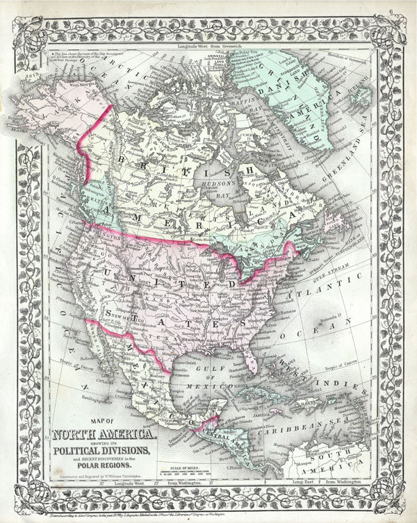 North America and the United States. - Main View