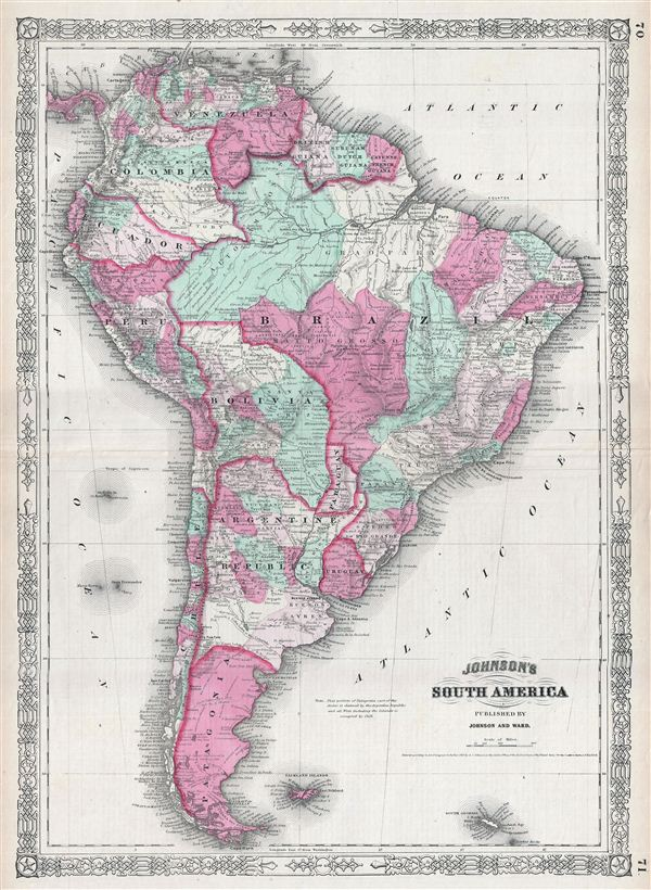 Johnson's South America. - Main View