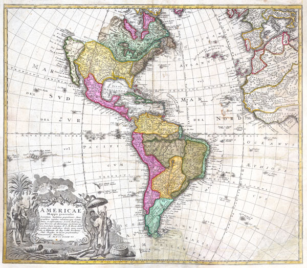 Americae Mappa Generalis.