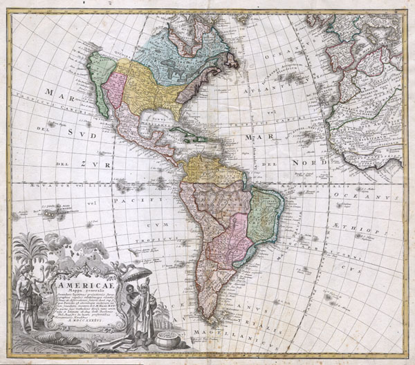 Americae Mappa Generalis. - Main View