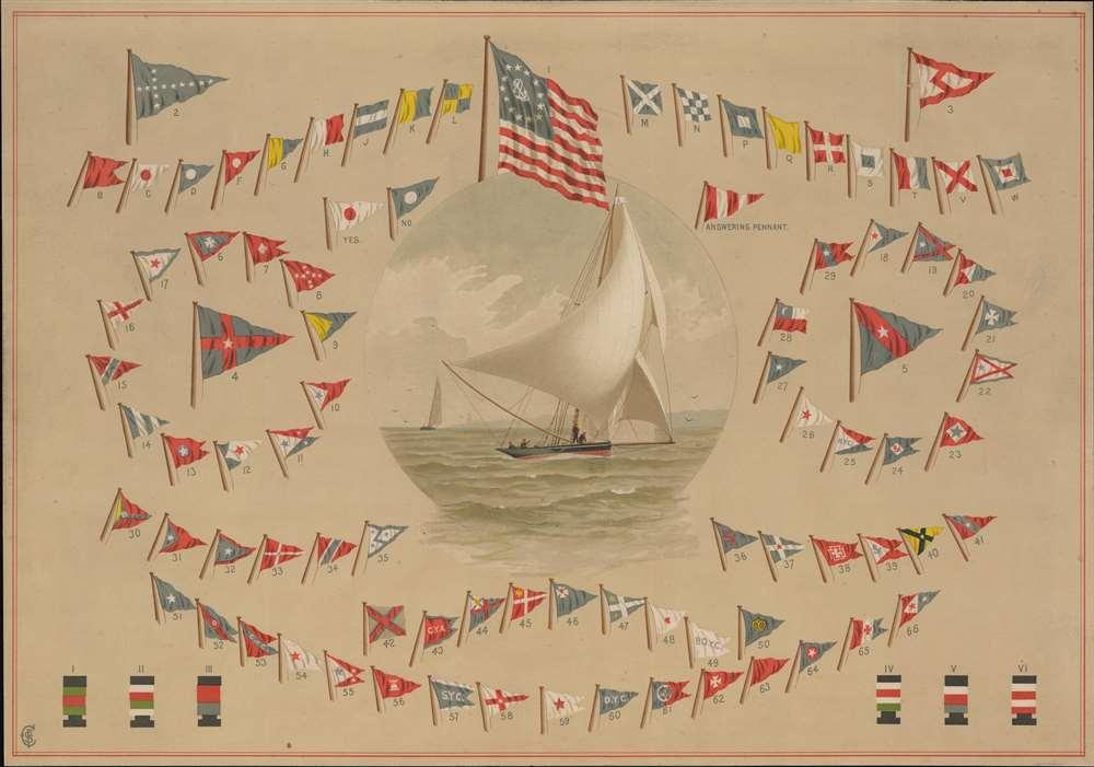 American Yachts Signal Chart. - Main View