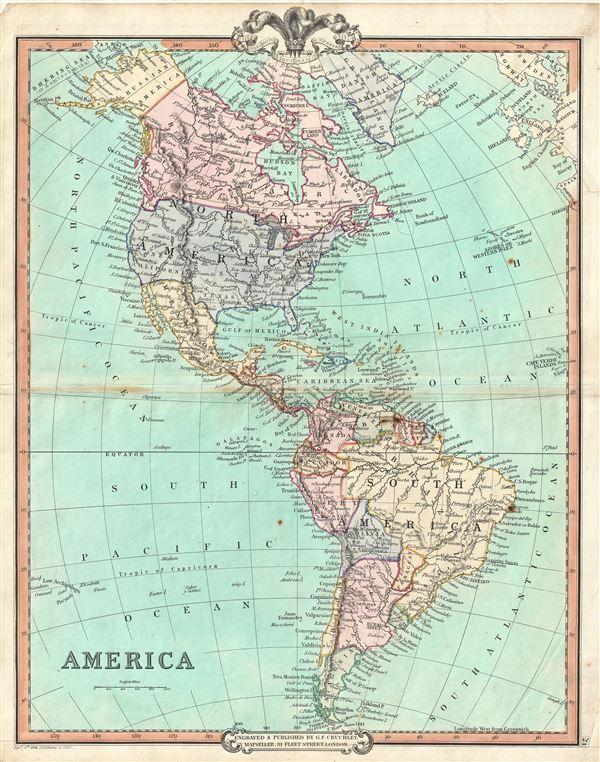America.: Geographicus Rare Antique Maps