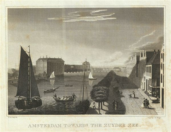 Amsterdam Towards the Zuyder Zee.