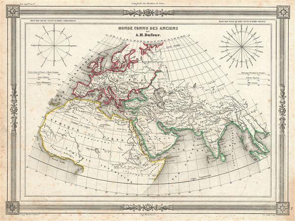 Monde Connu des Anciens. - Main View