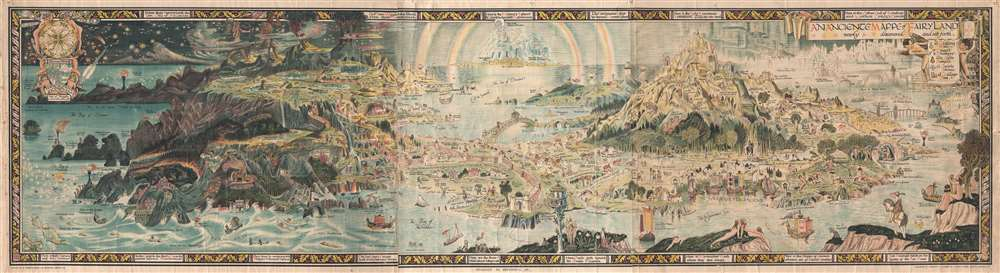 An Anciente Mappe of Fairy Land newly discovered and set forth.