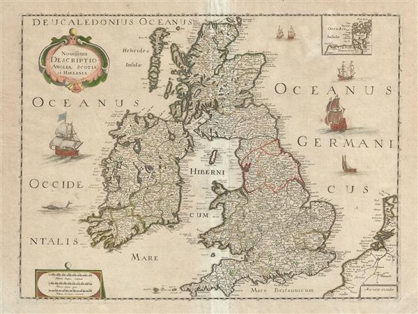 Novissima Descriptio Angliae, Scotiae et Hiberniae.