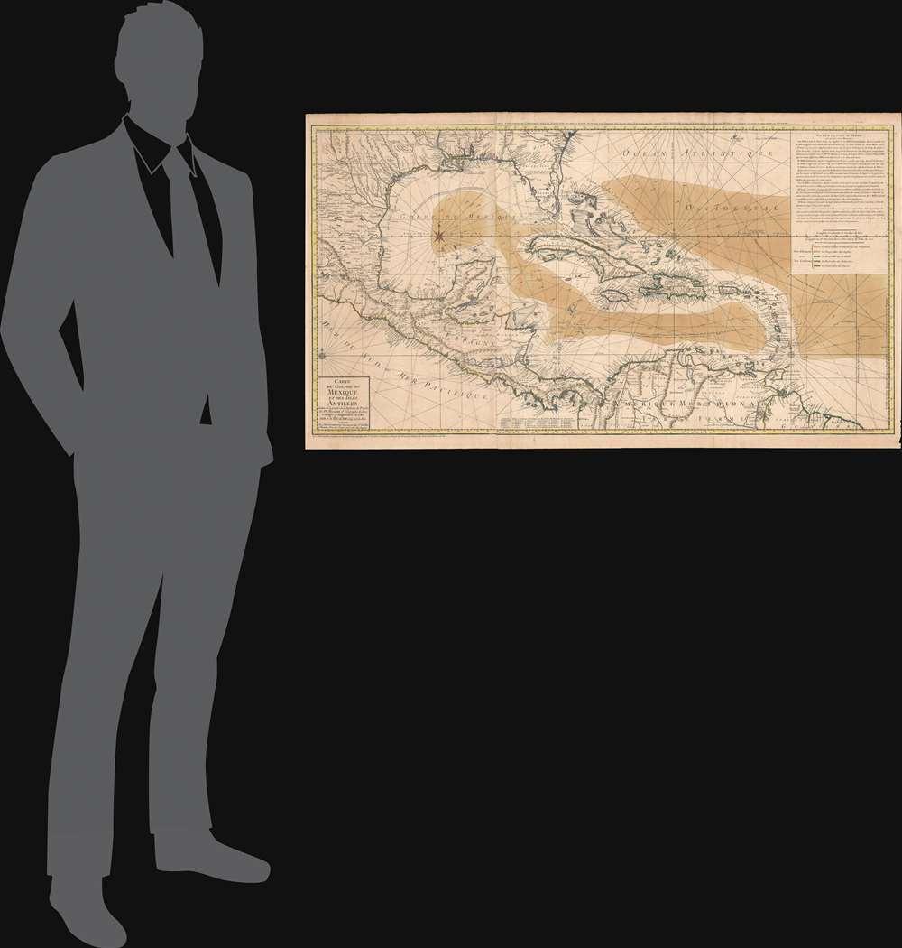 Carte du Golphe du Mexique et des Isles Antilles. - Alternate View 1