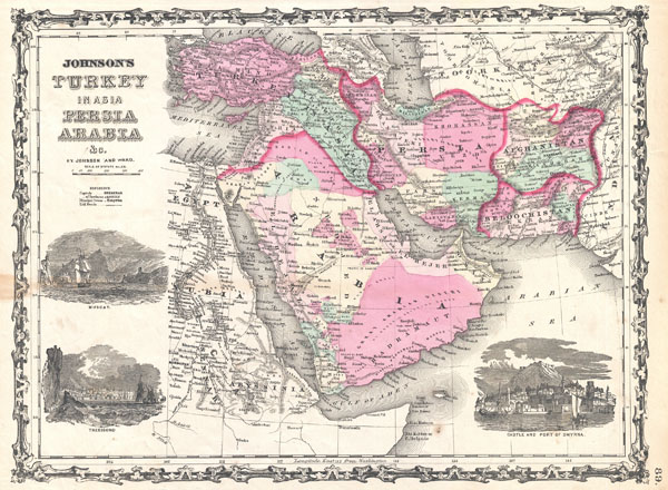 Johnson's Turkey in Asia Persia Arabia & Co.