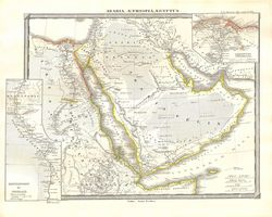 Arabia, Egypt, and Ethiopia or Abyssinia.