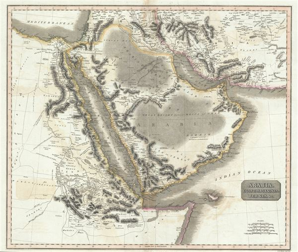 Arabia, Egypt, Abyssinia, Red Sea etc. - Main View