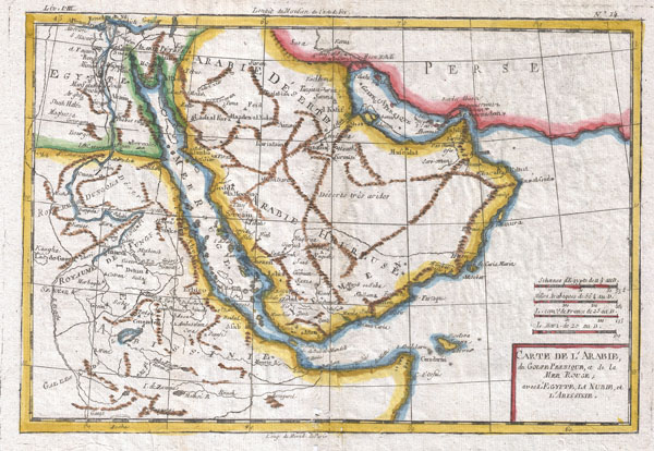 Carte De L'Arabie