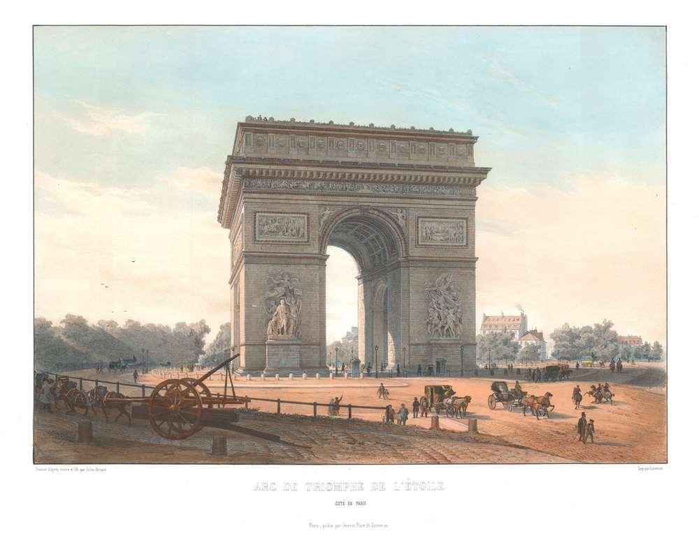Arc de Triomphe de l'Étoile. Côté de Paris. - Main View