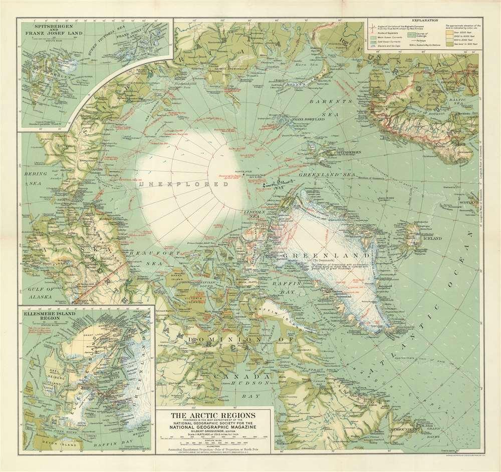 The Arctic Regions. - Main View
