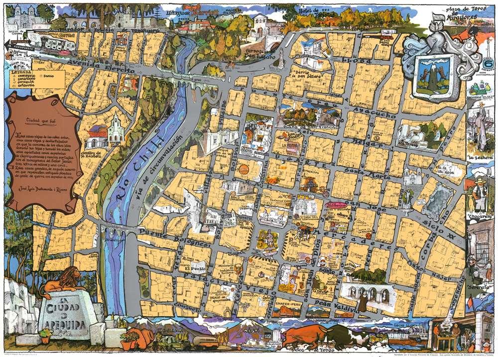 La Ciudad d'Arequipa. - Main View