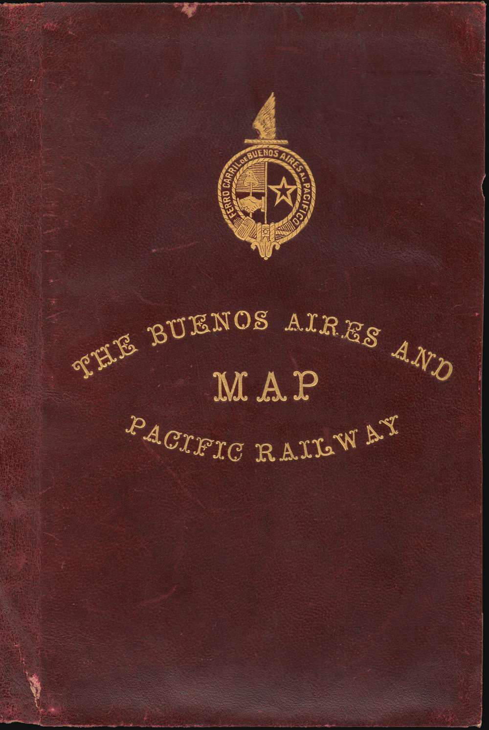 Map of the Argentine Railways.  Presented by the Buenos Aires and Pacific Railway Company, Limited. - Alternate View 2