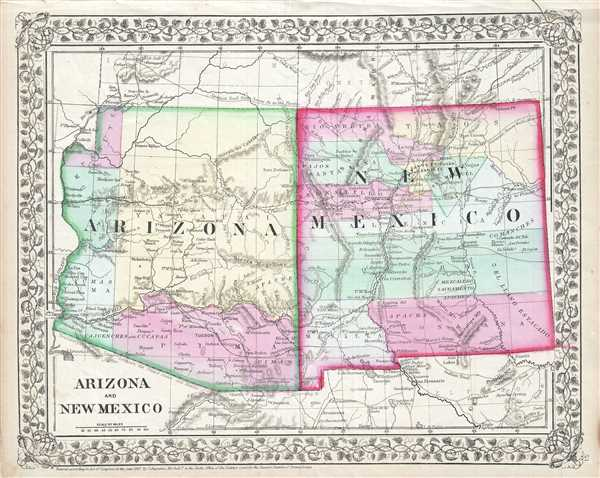 Arizona and New Mexico.