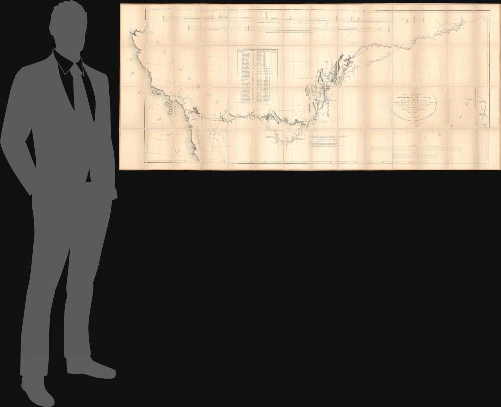 Military Reconnaissance of the Arkansas Rio del Norte and Rio Gila. - Alternate View 1