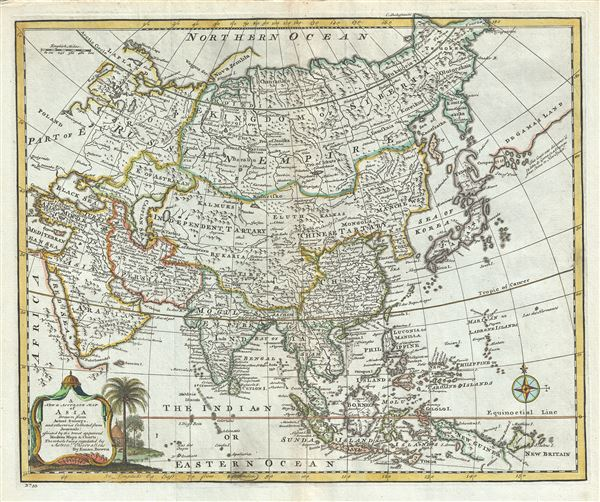 A New and Accurate Map of Asia. - Main View