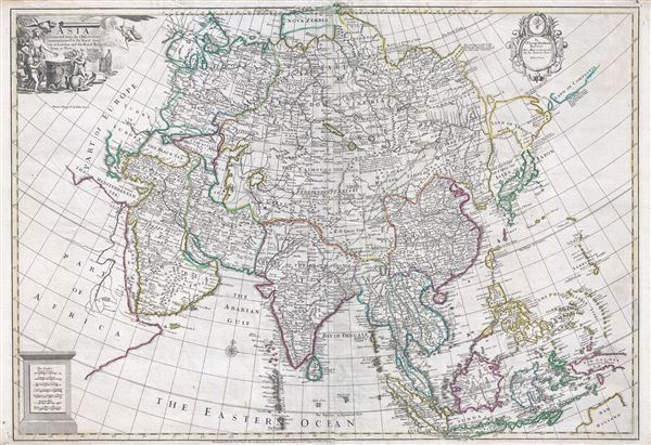 Asia Corrected from the Observations communicated to the Royal Society at London and the Royal Academy at Paris. - Main View