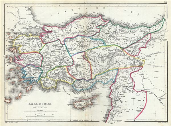 Asia Minor and the Northern Part of Syria. - Main View