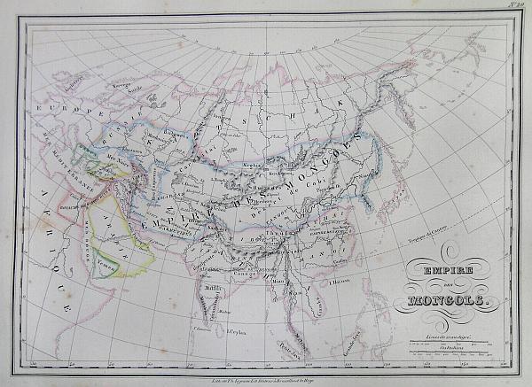Empire des Mongols.