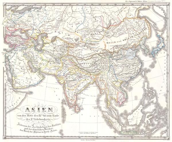 Asien im XIIIthn & XIVten Jahrhundert.  Die Mongolenherrschaft.